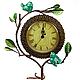 Часы настольные Бирюзовые Птички
