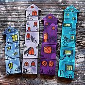 """Куклы и игрушки ручной работы. Ярмарка Мастеров - ручная работа Мозаика """"Ночной город"""". Handmade."""