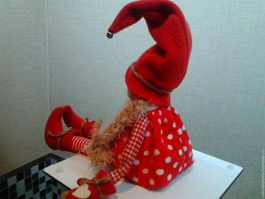 Куклы Тильды ручной работы. Ярмарка Мастеров - ручная работа. Купить Гномочка. Handmade. Гном, игрушка в подарок