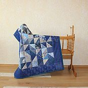 Для дома и интерьера ручной работы. Ярмарка Мастеров - ручная работа Детское лоскутное одеяло. Handmade.
