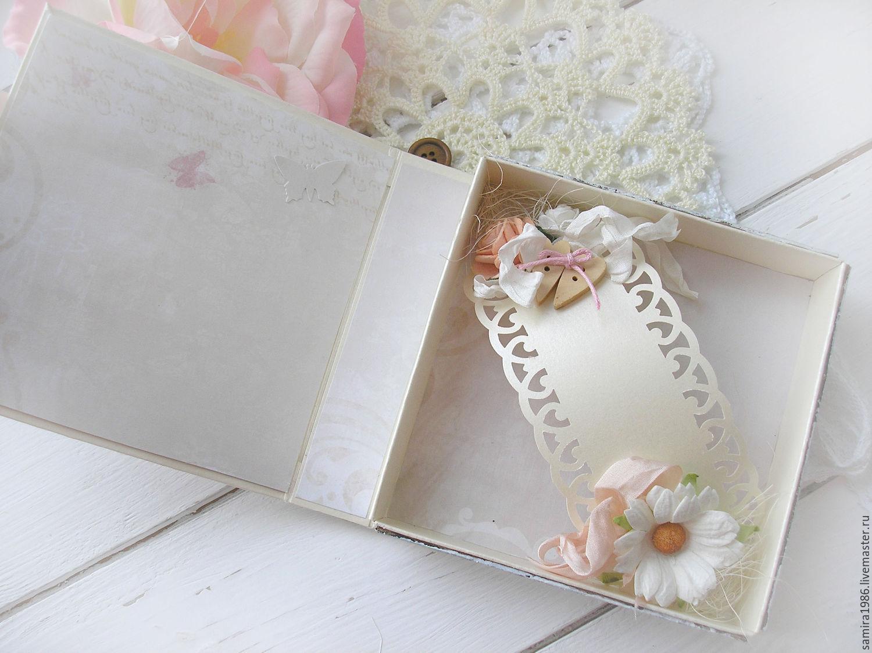 Шкатулка открытка на свадьбу