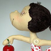 Куклы и игрушки ручной работы. Ярмарка Мастеров - ручная работа Маленькая балерина Белоснежка. Handmade.