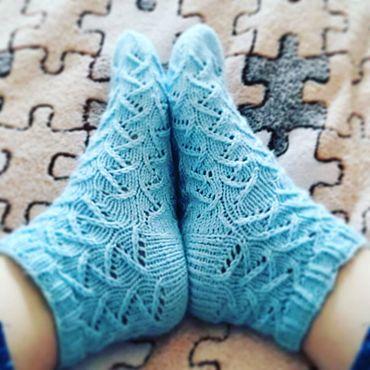 Товары для малышей ручной работы. Ярмарка Мастеров - ручная работа Вязаные носки. Handmade.