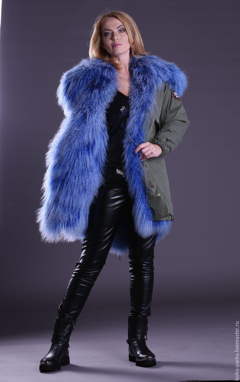 parka with a fur liner with collar, Parkas jacket, Zelenograd,  Фото №1