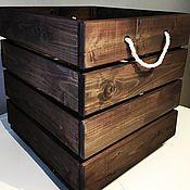 Мебель ручной работы. Ярмарка Мастеров - ручная работа Ящик для игрушек. Handmade.
