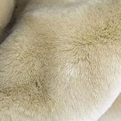 Материалы для творчества ручной работы. Ярмарка Мастеров - ручная работа Мех Песочно-серый 13 мм. Handmade.