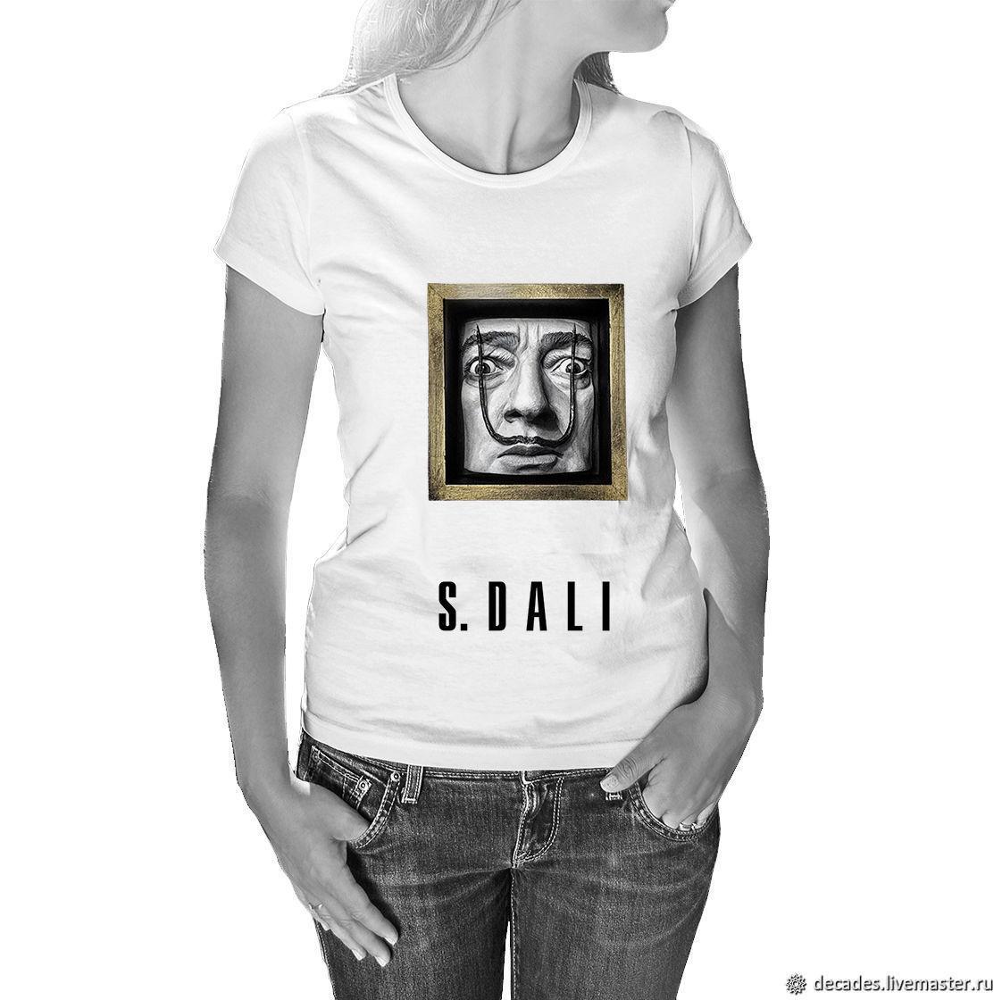 Salvador Dali T-Shirt, T-shirts, Moscow,  Фото №1
