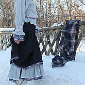 """Одежда ручной работы. Ярмарка Мастеров - ручная работа Комплект бохо """"Вьюга"""". Handmade."""
