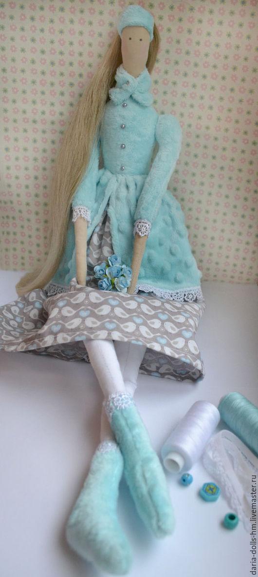Куклы Тильды ручной работы. Ярмарка Мастеров - ручная работа. Купить Интерьерная кукла Тильда. Handmade. Бирюзовый, тильда