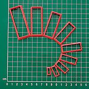 Каттеры ручной работы. Ярмарка Мастеров - ручная работа Набор каттеров для полимерной глины и выпечки №45. Handmade.