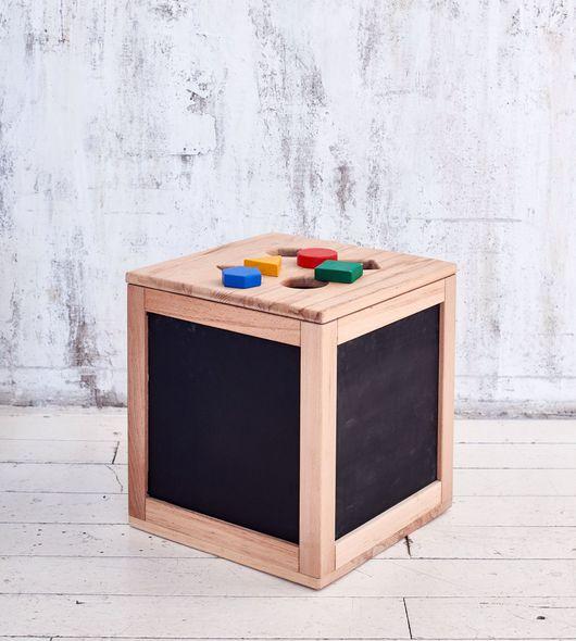 Детская ручной работы. Ярмарка Мастеров - ручная работа. Купить Ящик-сортер из бука. Handmade. Ящик для хранения, ящик деревянный