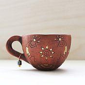 Посуда ручной работы. Ярмарка Мастеров - ручная работа Керамическая кружа для кофе/чая. Handmade.