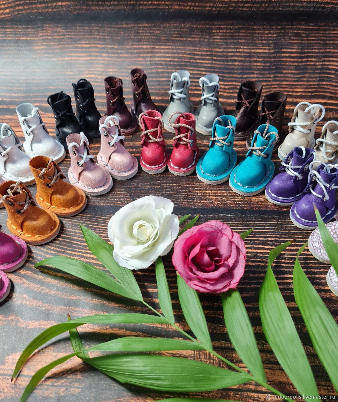 Обувь для Блайз/Руруко/Момоко. Ботиночки/сапоги для кукол, Одежда для кукол, Екатеринбург,  Фото №1