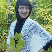 Аксессуары handmade. Livemaster - original item 238 the Orenburg down scarf white accessories scarves scarves. Handmade.
