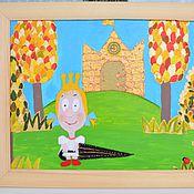 Картины и панно ручной работы. Ярмарка Мастеров - ручная работа Погода была прекрасная, принцесса была ужасная. Картина. Handmade.