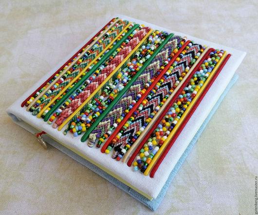 """Блокноты ручной работы. Ярмарка Мастеров - ручная работа. Купить Блокнот """"Хиппи"""". Handmade. Блокнот ручной работы, хиппи стиль"""