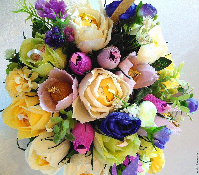 Сладкие букеты - где можно заказать москва доставка букетов цветов видное