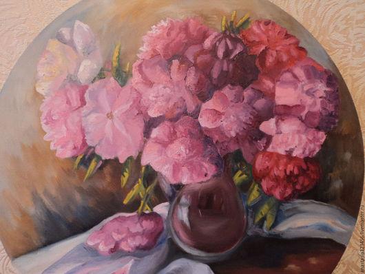 Натюрморт ручной работы. Ярмарка Мастеров - ручная работа. Купить Мгновение. Handmade. Комбинированный, натюрморт, розовый, ваза, красиво, картина
