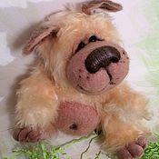 Куклы и игрушки ручной работы. Ярмарка Мастеров - ручная работа Собака-улыбака. Handmade.