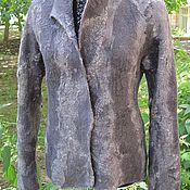 """Одежда ручной работы. Ярмарка Мастеров - ручная работа Жакет валяный """"Рептилия"""". Handmade."""