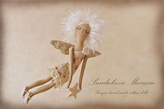 """Ароматизированные куклы ручной работы. Ярмарка Мастеров - ручная работа. Купить """"Ангел заветных желаний"""" - авторская кофейная куколка. Handmade."""