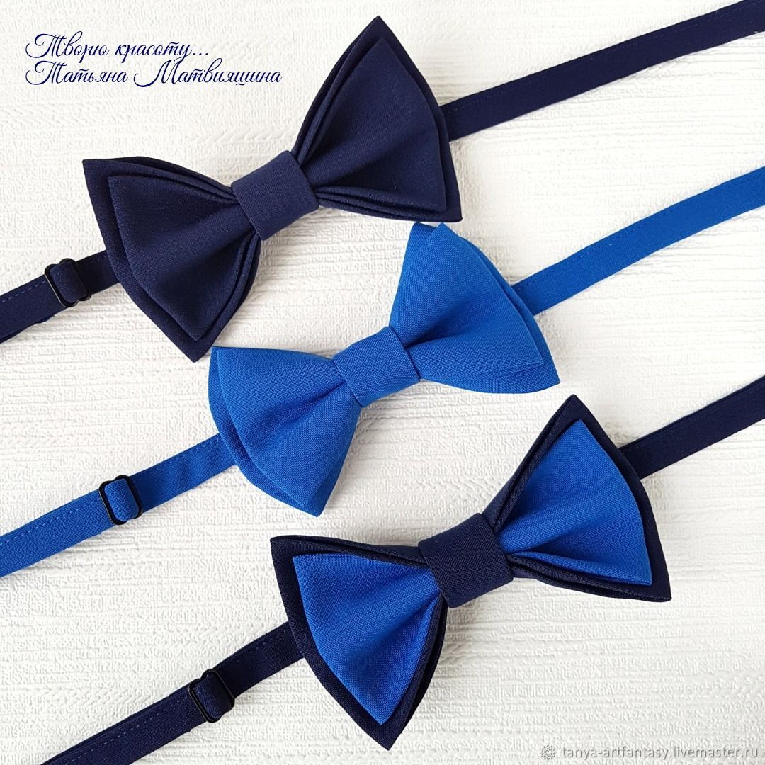 Bow tie blue. Bow tie for men, Butterflies, Vladivostok,  Фото №1