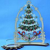 Подарки к праздникам handmade. Livemaster - original item Decorative candlestick