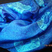 Аксессуары ручной работы. Ярмарка Мастеров - ручная работа Батик Магия Шарф натуральный шелк. Handmade.