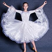 Одежда handmade. Livemaster - original item Ballroom dress  SNOW QUEEN. Handmade.