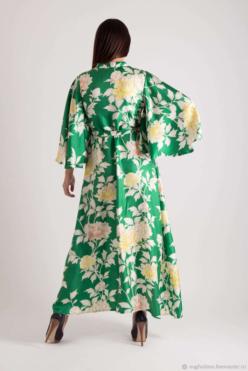 3a7cab7ad4c Order Green summer wrap dress