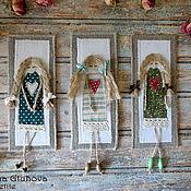 """Канцелярские товары ручной работы. Ярмарка Мастеров - ручная работа Закладки для книг """"Спящие ангелочки"""" - набор из 3 шт. Handmade."""