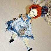 Куклы и игрушки ручной работы. Ярмарка Мастеров - ручная работа Клодильда. Подвижная кукла.. Handmade.