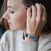 handmade. Livemaster - original item Agate Beads Bracelet for every day women. Handmade.