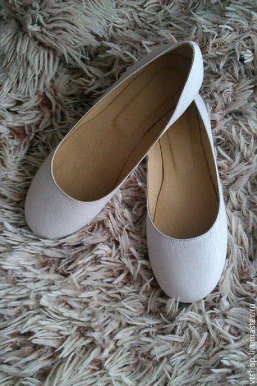 Обувь ручной работы. Ярмарка Мастеров - ручная работа. Купить Балетки. Handmade. Балетки, легкая обувь, индивидуальный заказ