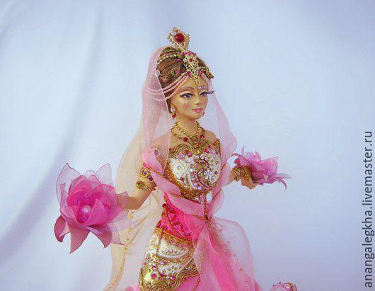Коллекционные куклы ручной работы. Ярмарка Мастеров - ручная работа. Купить Богиня Лакшми. Handmade. Комбинированный, богиня
