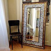 Для дома и интерьера handmade. Livemaster - original item Painted mirror the Mirror Blossoming almond trees. Handmade.