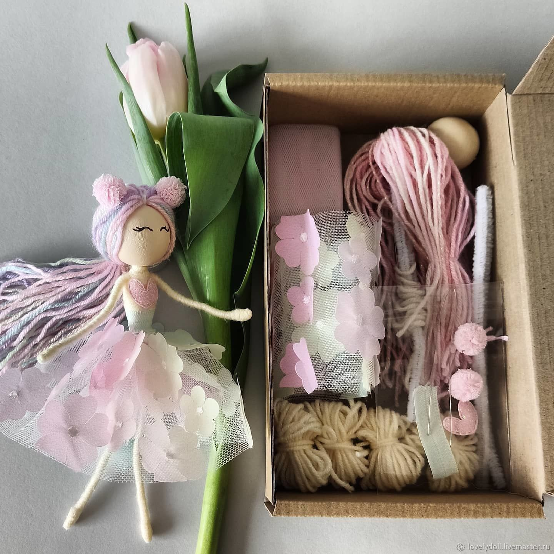 Dolls and dolls: Set for creativity Box for making dolls, Dolls, Kiev,  Фото №1