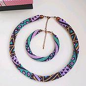 Украшения handmade. Livemaster - original item Necklace and bracelet Northern Lights. Handmade.