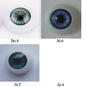 Материалы для творчества handmade. Livemaster - original item Eyes 20 mm (2). Handmade.