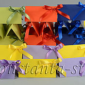 Свадебный салон ручной работы. Ярмарка Мастеров - ручная работа Гостевые карточки  для радужной свадьбы, разноцветные. Handmade.