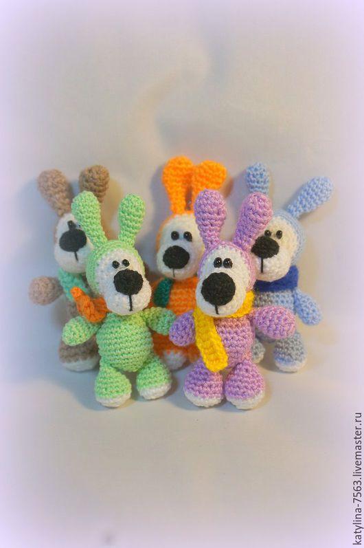 Игрушки животные, ручной работы. Ярмарка Мастеров - ручная работа. Купить Собачка. Handmade. Разноцветный, щенок, пес, собака игрушка