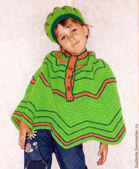 Одежда для девочек, ручной работы. Ярмарка Мастеров - ручная работа. Купить Травка комплект для девочки. Handmade. Комплект для девочки, берет
