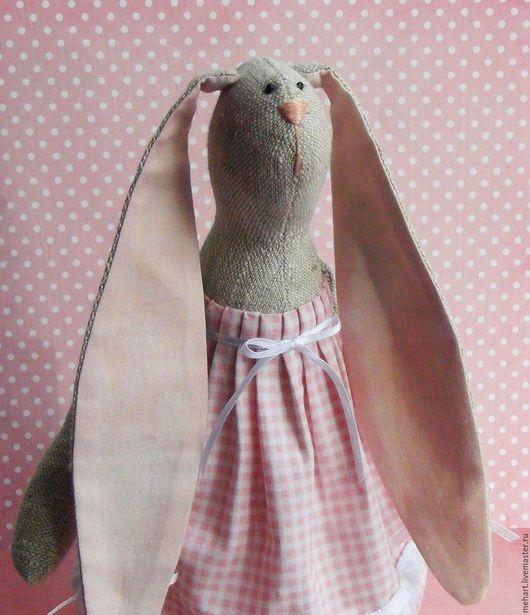 Куклы Тильды ручной работы. Ярмарка Мастеров - ручная работа. Купить Горошинка. Тильда заяц.. Handmade. Голубой, тильда в подарок