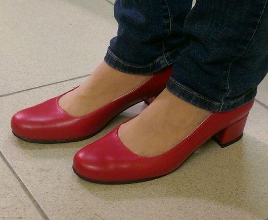 Обувь ручной работы. Ярмарка Мастеров - ручная работа. Купить Туфли жеские. Handmade. Женская обувь, натуральная кожа