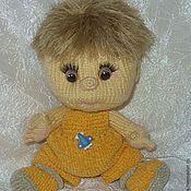 Куклы и игрушки ручной работы. Ярмарка Мастеров - ручная работа Вязаный малыш. Handmade.