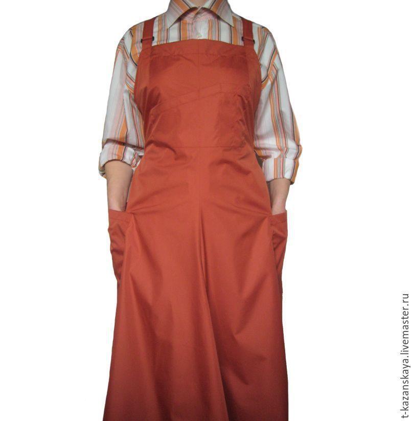 Women's Pottery apron. Apron-apron-sundress to order, Sundresses, Voronezh,  Фото №1