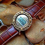 """Часы наручные ручной работы. Ярмарка Мастеров - ручная работа Наручные бронзовые часы """"Стимпанк"""" (цена договорная). Handmade."""