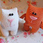 Куклы и игрушки ручной работы. Ярмарка Мастеров - ручная работа Кот вязаный крючком. Handmade.