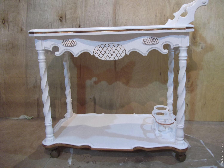 столик сервировочный,в стиле прованс,кантри, Столы, Дорогобуж, Фото №1