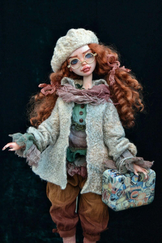 Interior art doll Clementine, Dolls, Stary Oskol,  Фото №1